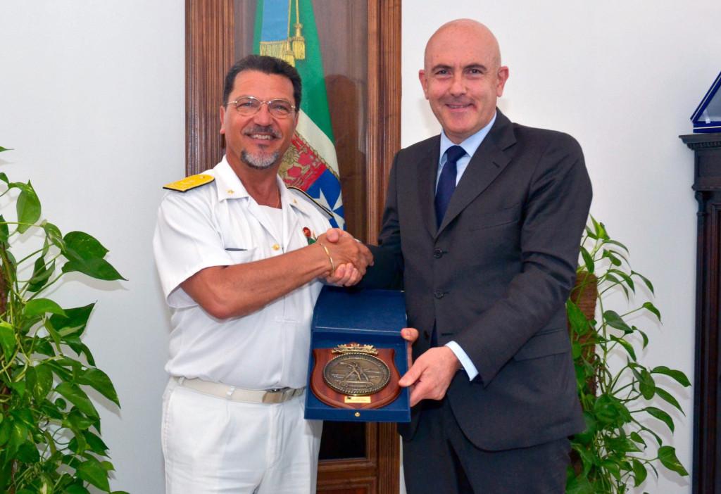 Alfano Apertura Centro Sportivo Marina Militare Taranto