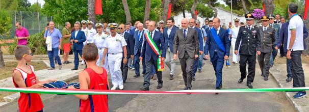 Apertura nuovo Centro Sportivo Marina Militare Taranto