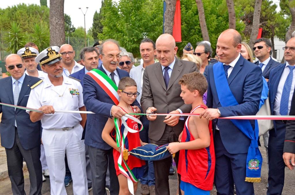 G Alfano centro sportivo marina Militare Taranto