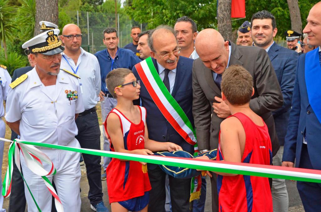 Gioacchino Alfano Apertura Centro Sportivo Marina Militare Taranto