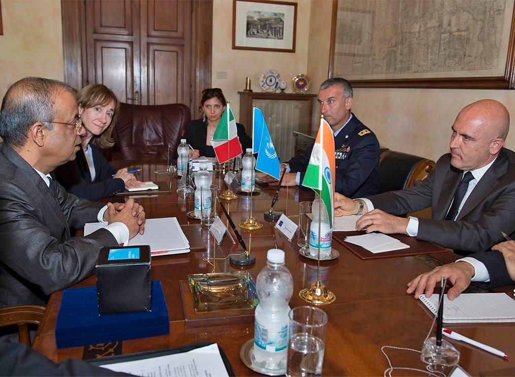 Gioacchino Alfano Incontra Sottosegretario Generale Nazioni Unite
