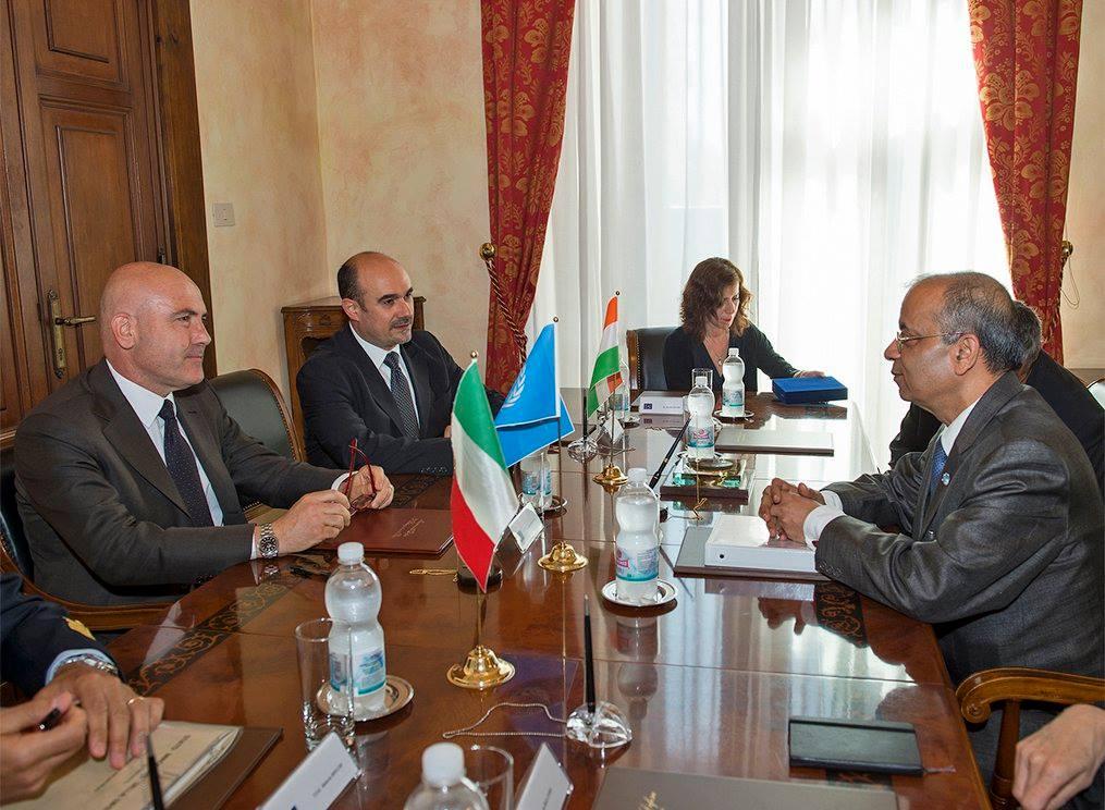 Gioacchino Alfano Incontra Sottosegretario Generale ONU