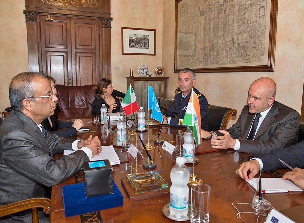 Gioacchino Alfano Incontra Sottosegretario ONU