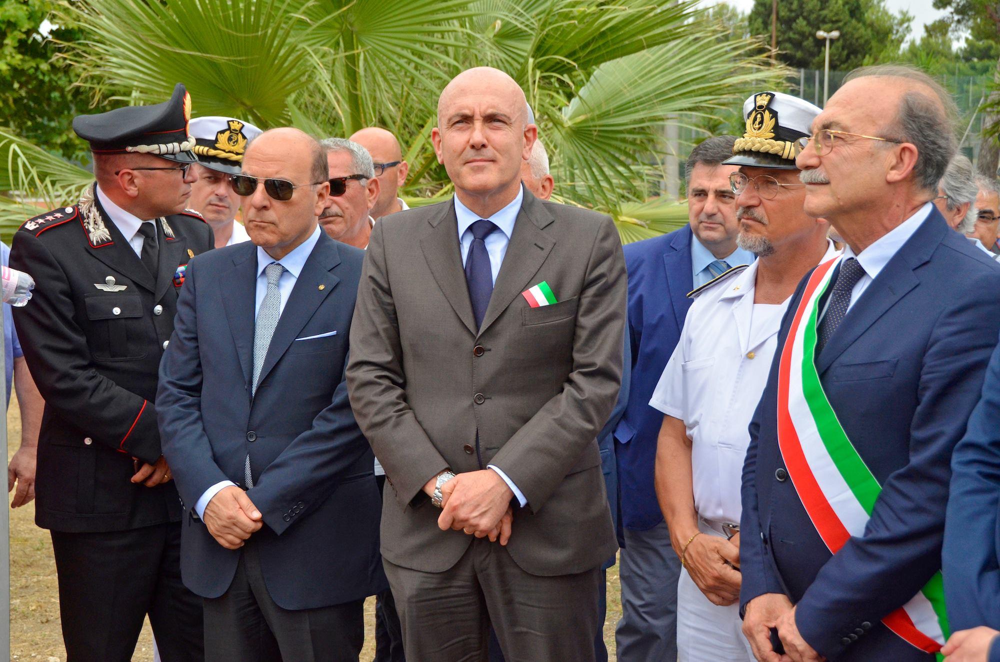 Inaugurazione centro sportivo marina militare taranto
