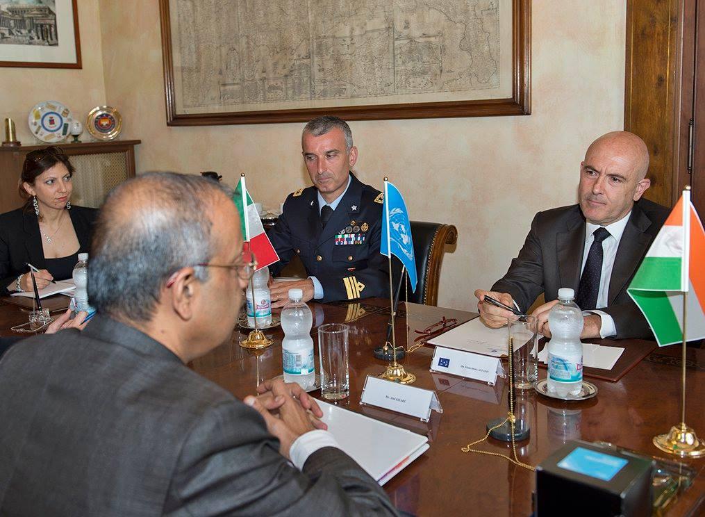 Incontro Sottosegretario Generale Nazioni Unite Gioacchino Alfano