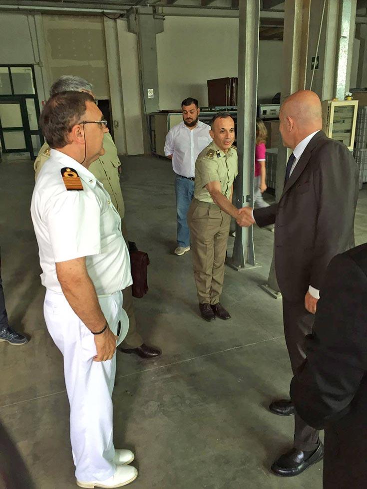 Visita realta produttiva Sottosegretario difesa