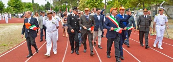 Inaugurazione centro sportivo Marina Militare