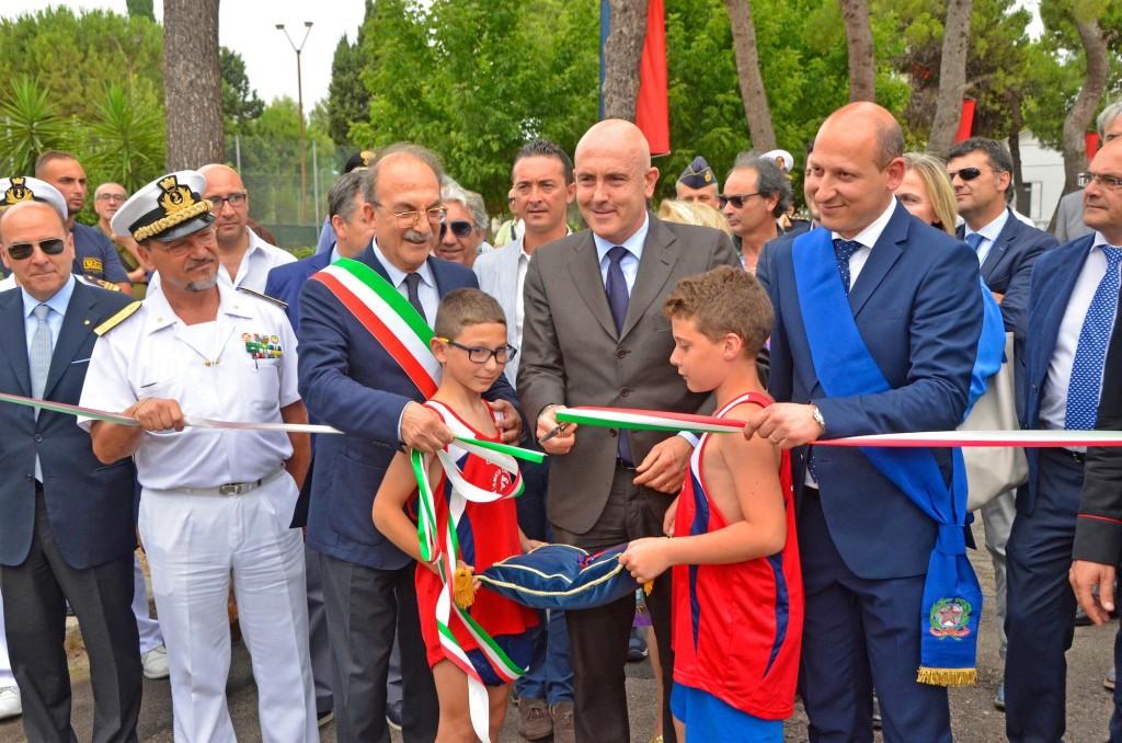inaugurazione centro sportivo marina militare taranto-2