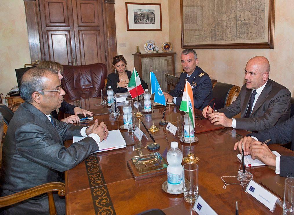 incontro sottodsegretario generale nazioni unite Alfano