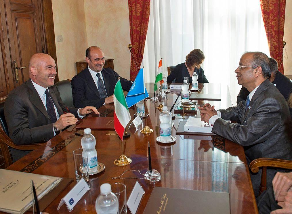 incontro tra sottosegretario difesa sottodsegretario generale nazioni unite ONU