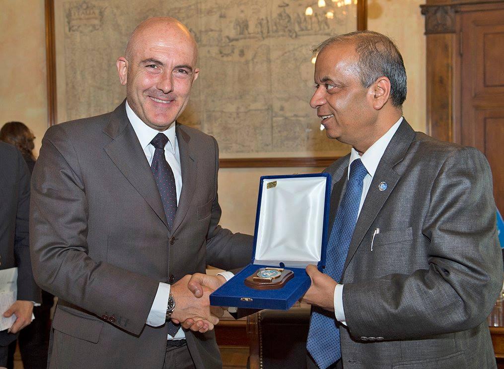 sottosegretario difesa incontra sottodsegretario generale ONU