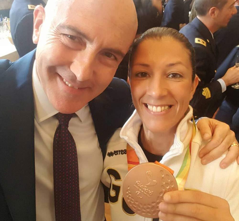 Incontro con atleti militari olimpici paralimpici
