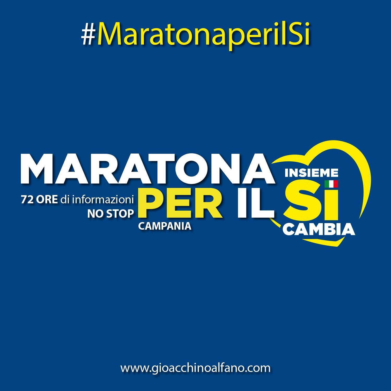 conferenza lancio maratona per si