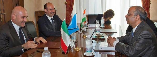 Incontro con Sottosegretario alla Difesa e il sottosegretario delle Nazioni Unite