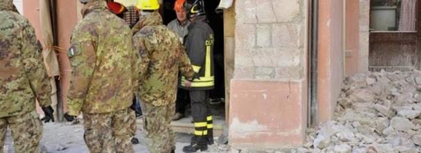 Terremoto 1237 militari 334 mezzi dispositivo protezione civile