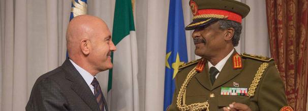Incontro con delegazione libica
