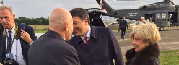 Con Matteo Renzi al Teatro Massimo di Benevento